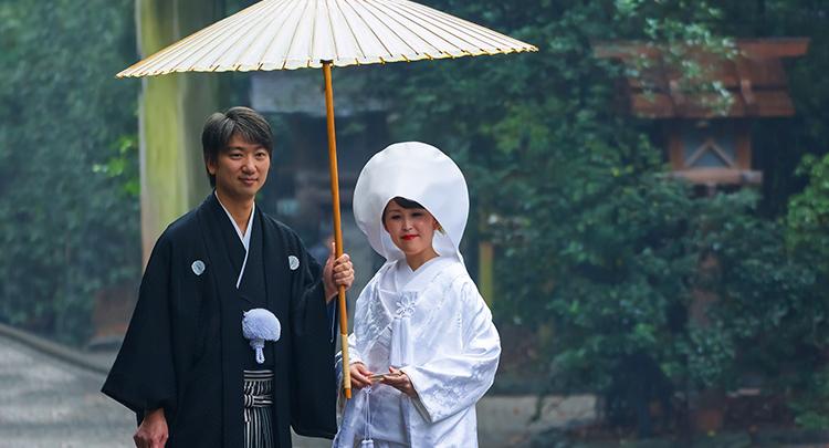 正統派の神社結婚式
