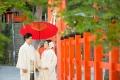 京都の和装神社結婚式